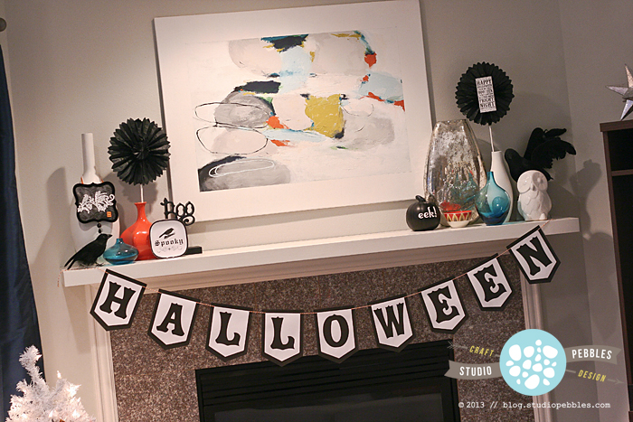 StudioPebbles_HalloweenDecor2013_Mantle